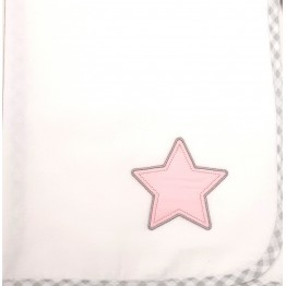 Baby Oliver Lucky Star Pink Σελτεδάκι 50x70 des.308  ΣΕΛΤΕΔΑΚΙΑ
