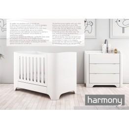 Σιφονιέρα  Harmony white ΣΙΦΙΝΙΕΡΑ