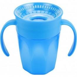 Dr Brown's Κύπελλο με λαβες Cheers 360, Μπλε 200 ml 6m+ ΕΚΠΑΙΔΕΥΤΙΚΑ ΚΥΠΕΛΛΑ