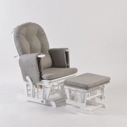 Προσφορά Neonato Πολυθρόνα θηλασμού Vanessa λευκή ΚΑΡΕΚΛΑ ΘΗΛΑΣΜΟΥ